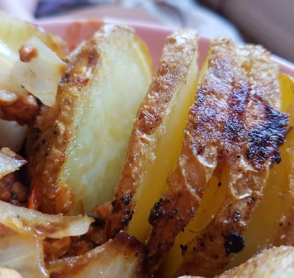 Homemade potato dishes
