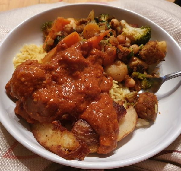 Homemade tikka masala