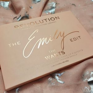 Revolution The Emily Edit 'The wants' palette