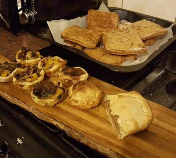 Pastries and pies