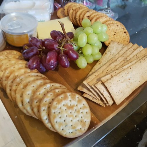 Cracking homemade cheese board!